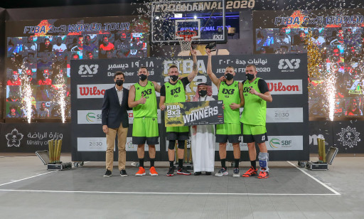 Riga is Champion of FIBA 3X3 World Tour