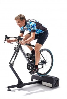 Competitive riders prefer to ride their favorite bike on the LYNX