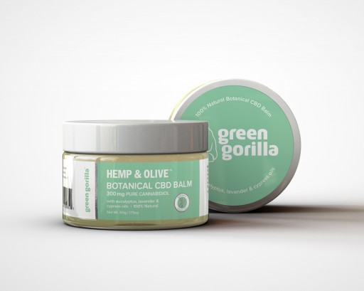 Green Gorilla Launches USDA Certified, Made With Organic Ingredients, Botanical CBD Balm to Help Treat Muscle Soreness and Inflammation