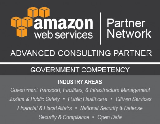 InfoReliance Achieves AWS Government Competency in Eight Industry Areas