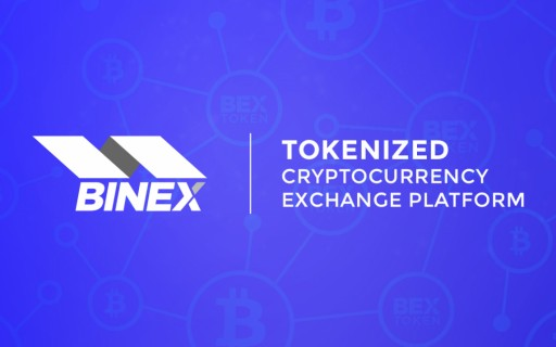 BINEX.TRADE - New Cryptocurrency Exchange Sharing Revenue