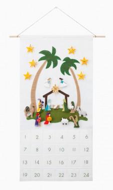'Star of Wonder' Nativity Advent Calendar