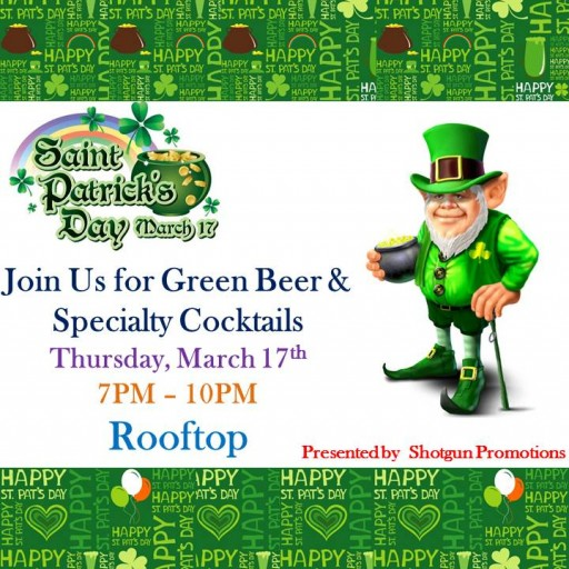 TENTEN Wilshire: Saint Patrick's Day Rooftop Celebration - Kilts Are Encouraged