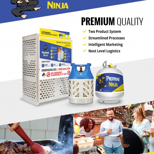 Propane Ninja's New Fiberglass Propane Tanks Are Now Available at Sedano's Supermarkets