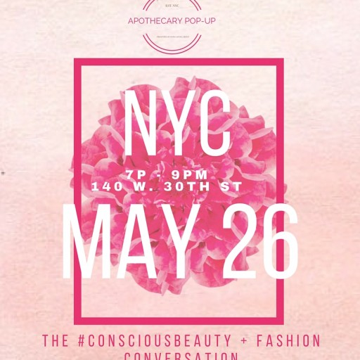 Apothecary Pop-Up to Present Moderated Conversation on Sustainability in the Beauty Product and Fashion Industries