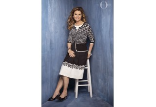 Maria Shriver, journalist, activist and former first lady of California in Talbots x O, The Oprah Magazine Cardis For A Cause Collection