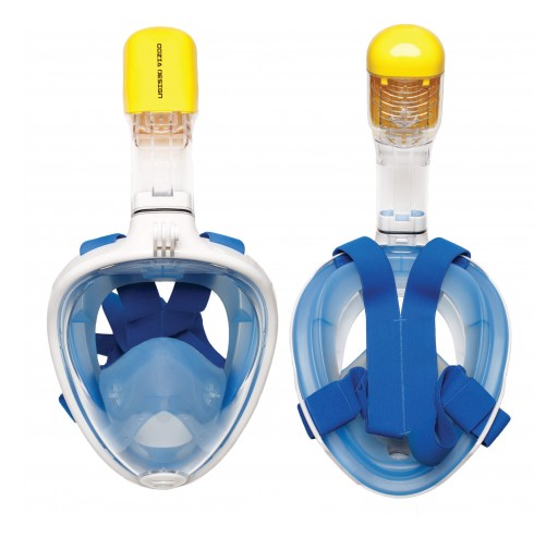 Cozia Design Launches OceanView, an Innovative Snorkel Mask