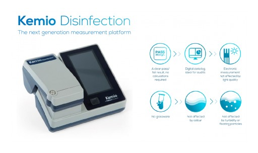 Enviro Tech Chemical Services Offers Next-Generation Kemio PAA Detection System