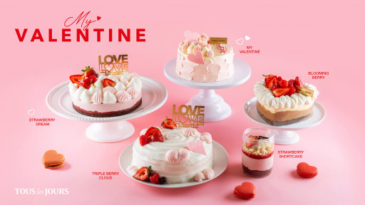 TOUS les JOURS Bakery to Launch Valentine's Day Cakes
