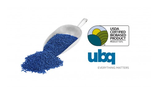 UBQ Materials Earns USDA Certified Biobased Product Label