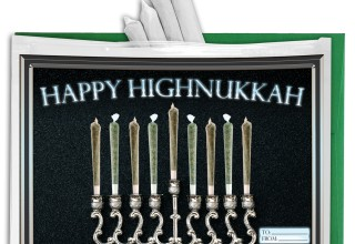 Happy Highnukkah - Holiday Greeting Gift Bag