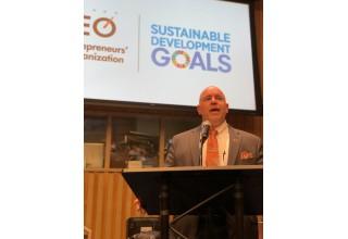 Steve Distante as Keynote Speaker at the United Nations