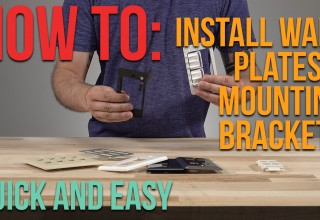 How To Install Wall Frame Mount Brackets and Wall Plates