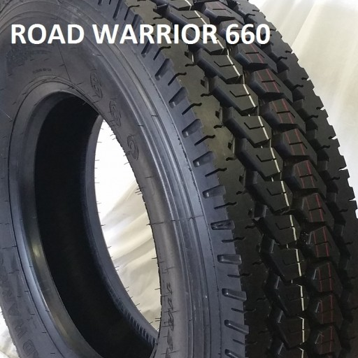 Road Warrior Tires Announces Distribution of Its New and Improved Truck Traction Tire, Offering More Efficient Mud Evacuation With an Improved Directional Tread Design.