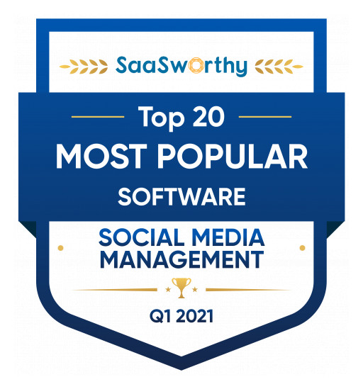 Socialbakers Recognized as the 'Most Popular Social Media Management Software' by SaaSworthy