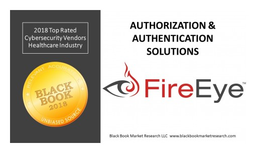 FireEye Ranks Top Authorization & Authentication Solution in Client Experience, 2018 Black Book Cybersecurity User Survey