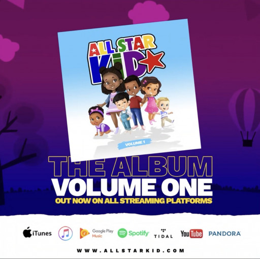 The Year's Best Kids Album Just Dropped: 'All Star Kid, The Album, Vol 1' Now Available on All Platforms and Features Porsha Williams, Dukes, aDela and More