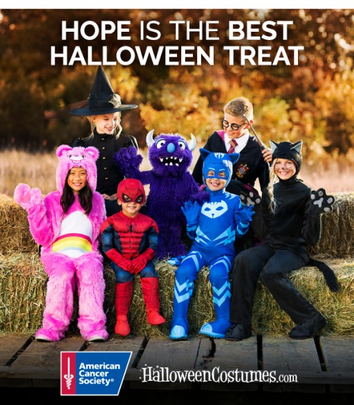 HalloweenCostumes.com Partners With the American Cancer Society for Hope is the Best Halloween Treat