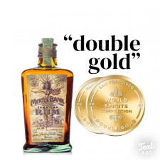 """Myrtle Bank Rum """"double gold"""" SF spirits Competition"""