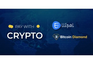 Pay with Crypto on Ellipal