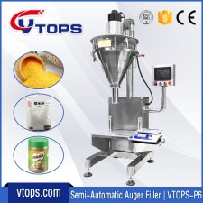 Semi Automatic Auger Filler | VTOPS-P6