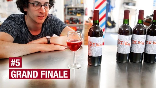 Alex 'French Guy Cooking' Releases Final Episode of DIY Winemaking Series