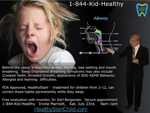 Bed-Wetting - the HealthyStart™ Fix Is In! Free Evaluations in Irvine, CA on July 23 and Atlanta, GA on Aug. 6 From HealthyStart™