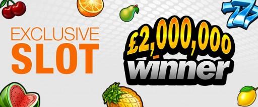 Winner Casino UK Announces New Game - £2,000,000 Winner - Exclusive Slots for Winner