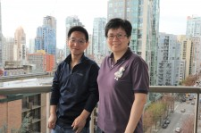 Blue Ice Cloud Director Billy Liu and Istuary VP of Engineering Jean Su