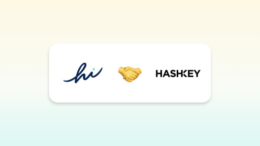 hi Announces Investment from Fintech Fund HashKey Group
