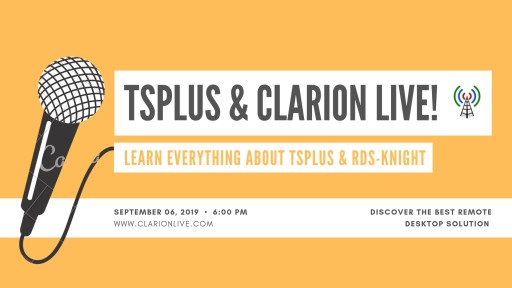 TSplus Remote Access Featured in ClarionLive!