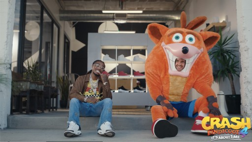 It's About Time! Activision Teams Up With Battery on New Campaign for Highly Anticipated Release of 'Crash Bandicoot™ 4: It's About Time'