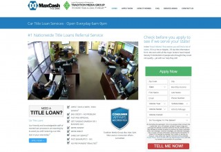 Max Cash Title Loans Website