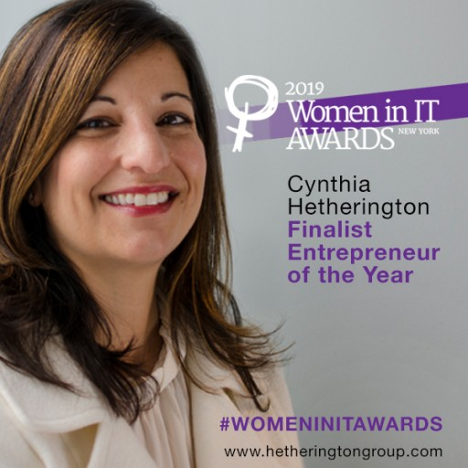 Cynthia Hetherington Shortlisted as Women in IT — NY Entrepreneur of the Year 2019