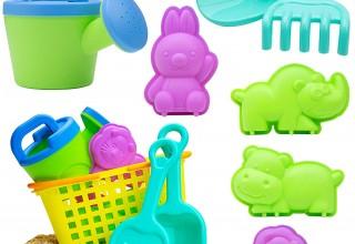Zoo Animal Sensory Sand Toys for Kids