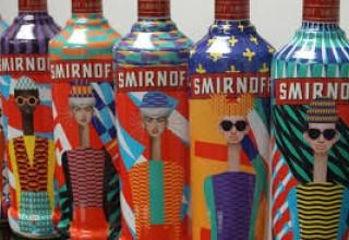 Label Impressions Smirnoff bottles