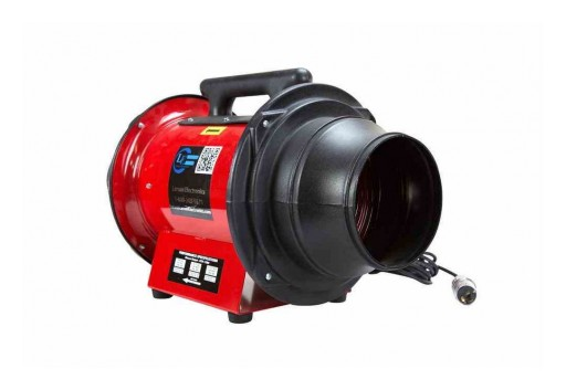 Larson Electronics Releases Explosion Proof Electric Inline Axial Fan, CID1, 1/3 HP Engine, 1390 CFM
