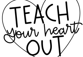 Teach Your Heart Out Logo