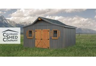 Colorado Shed Company's New Logo