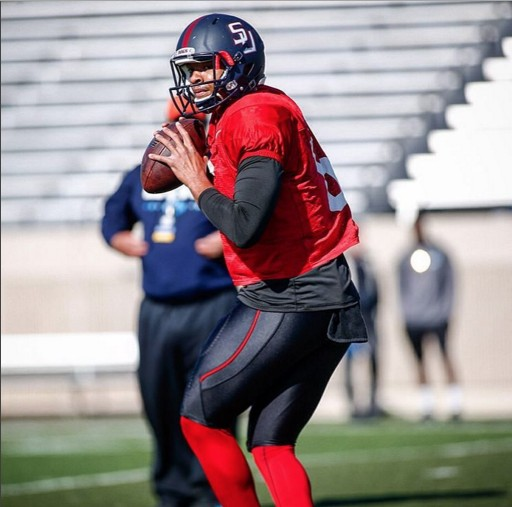 Gigantic Gunslinger 6-5, 245 QB Michael Eubank of Samford Has Great Interest From Carolina Panthers, Buccaneers, and Raiders per Inspired Athletes