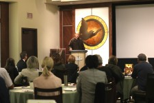 Forum on human trafficking at the Church of Scientology of Pasadena