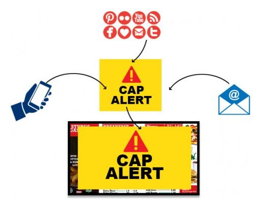 Mvix's Now CAP Compliant Digital Signage Software Unifies Emergency Messaging