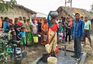 Inspire clean water well in Birendranagar, Nepal