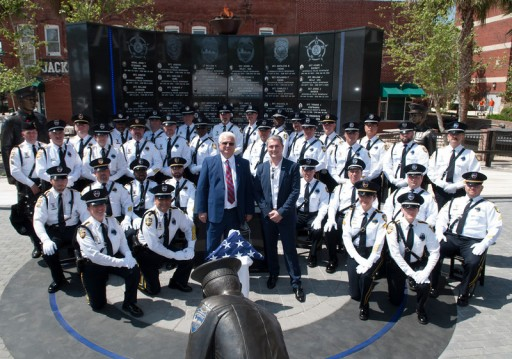 Finker Frenkel Legacy Foundation Donation Makes Possible Three New Statues at Jacksonville Fallen Officers Memorial Wall