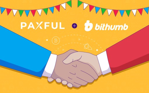 Paxful Teams Up With South Korean Cryptocurrency Giant Bithumb Global