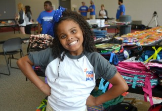 Little Miss Flint Distributing Backpacks