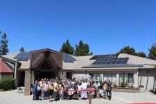 Good Samaritan held a solar ribbon-cutting ceremony on Sunday