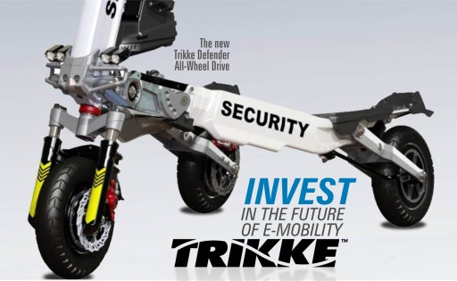The Trikke Company, Previous Winner of Time Magazine's Invention of the Year, Launches Crowdfunded Investor Campaign Bringing New Electric Vehicles to Market
