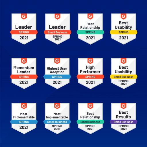 Webgility Sweeps 12 Categories in G2 Spring Awards