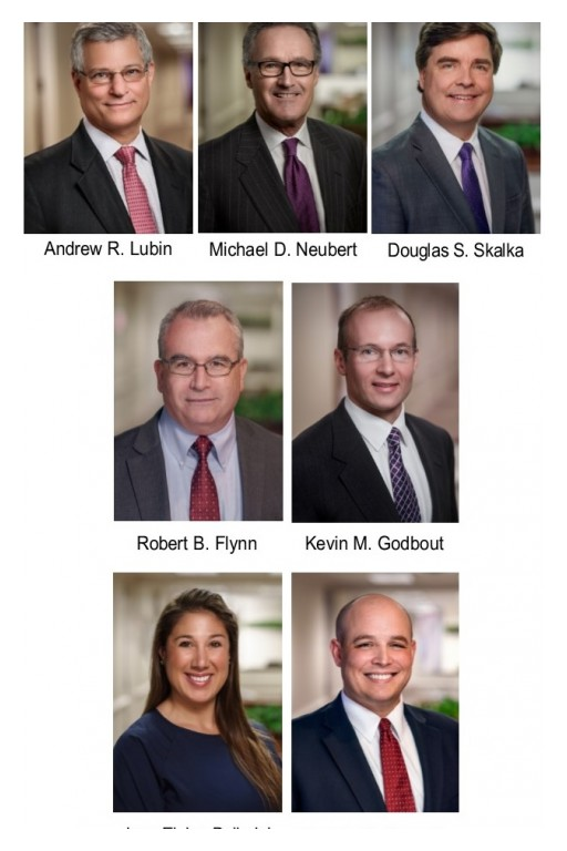 Neubert, Pepe & Monteith, P.C. Attorneys Recognized by Connecticut Super Lawyers 2020